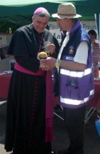 Notfallseelsorge-Bär für den Bischof